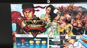 Xtension Arcade Cabinet Uk by Street Fighter 5 Marquee Artwork For The Sega Lindbergh Arcade