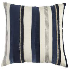 Pier One Canada Decorative Pillows by Textured Indigo Striped Pillow Pier 1 Imports