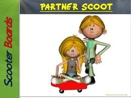 Scooter Clipart Physical Education 1