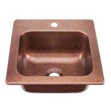 copper brown kitchen sinks kitchen the home depot