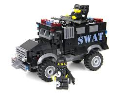 100 Swat Truck For Sale Battle Brick Armored Police SWAT Custom Set