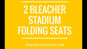 Deluxe Stadium Chair With Arms by 2 Padded Stadium Chairs For Bleachers Sports Chairs Youtube
