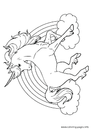 Unicorn Color Page Coloring Pages Of Unicorns To Print
