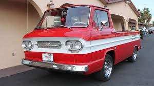 100 Chevy Corvair Truck 1961 Chevrolet Loadside Pickup 1 Print Image Chevrolet