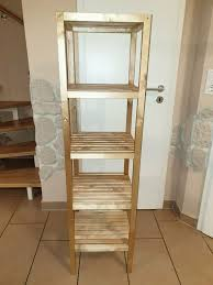ikea molger regal aus massiver birke badezimmer ablage