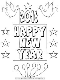 Printable Pictures New Year Coloring Pages 41 With Additional Free Kids