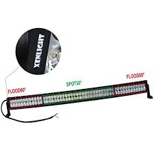 xenLIGHT 300w 52 inch Curved Led Work Light Bar froad Truck