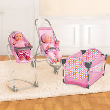 Be My Baby Deluxe Stroller 4-in-1 High Chair And Play Pen ...