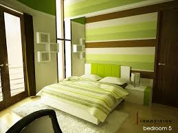 Bedrooms With Color Adorable Warm Green Bedroom By RyoSakaZaQ