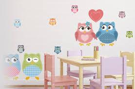 stickers pour chambre d enfant stickers chouette oiseau pour chambre d enfants vente de