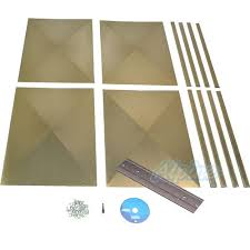 Alpine Home Air Products KIT081T Sheet Metal Transition Kit With