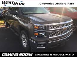 100 West Herr Used Trucks 2014 Chevrolet Silverado 1500 For Sale Rochester NY