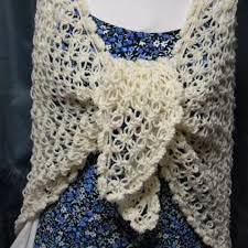 Crochet Knot Stitch Shawl Creatys for