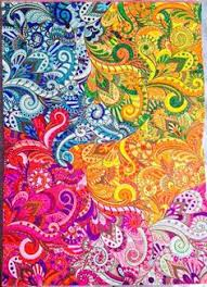 From Art Therapy An Anti Stress Colouring Book