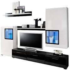 kryspol wohnwand panda anbauwand wohnzimmer set modern