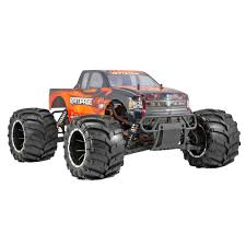 100 Gas Powered Remote Control Trucks Redcat Racing 15 Rampage MT Truck V3 RTR Orange