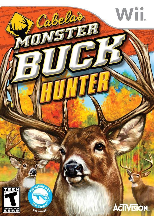 Cabela's Monster Buck Hunter - Nintendo Wii