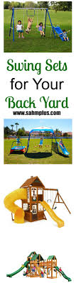Small To Big Backyard Swing Set Choices | SAHM, Plus... Srtspower Outdoor Super First Metal Swing Set Walmartcom Remarkable Sets For Small Backyard Images Design Ideas Adventures Play California Swnthings Decorating Interesting Wooden Playsets Modern Backyards Splendid The Discovery Atlantis Is A Great Homemade Swing Set Google Search Outdoor Living Pinterest How To Stain A Homeright Finish Max Pro Giveaway Sunny Simple Life Making The Most Of Dayton Cedar Garden Cute Clearance And Kids Chairs Gorilla Free Standing Review From Arizona