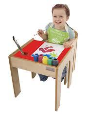 bureau bébé helper en semble table bureau et chaise en bois pour