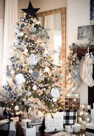 Black And White Plaid Tree Decor Source