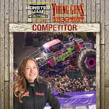 Monster Jam - Wild Flower Driver Rosalee Ramer Is Our Next... | Facebook Not Ready To Be A Fulltime Parent Foster Petthursday Kiss Monster Jam Mpls Dtown Council Worlds Youngest Pro Female Truck Driver 19year Old Funky Polkadot Giraffe Monster Jam Returns To Angel Stadium Of First Female Grave Digger Driver With Comes Des Moines Wkforit Apparel Featured Athletes Pedal The Metal Arc Magazine The No Joe Schmo Rosalee Ramer Women Drivers Bsmaster Builds Her Own Rides Youtube