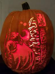 Oogie Boogie Halloween Stencil by Las Vegas Pumpkin Carver U0027s Designs Bring Halloween Feel To