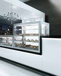 Refrigerated Display Counter For Pastry Shops