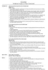 Download Facilities Maintenance Supervisor Resume Sample As Image File