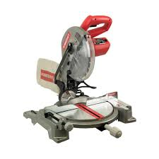 Skil Flooring Saw Home Depot by Homecraft 14 Amp 10 In Compound Miter Saw With Laser H26 260l