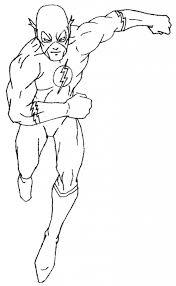 Kid Flash Simbel Superhero Coloring Pages The Throughout Page With Regard