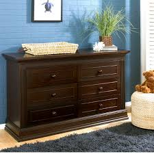 Baby Changing Dresser With Hutch by Baby Cache Montana 6 Drawer Dresser Espresso Babies