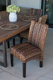Pottery Barn Seagrass Club Chair by Amazon Com Birdrock Home Abaca And Seagrass Side Chair Set 2
