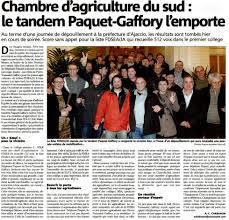 Chambres D Agriculture Corse Corse Le Tandem Fdsea Et Ja2a Emporte Les élections à La Chambre D