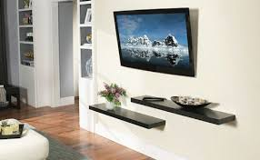LCD Television Wall Mount Decoration Style