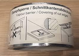 8 meter dfsperre schnittkantenabdeckung dfschutz aluband selbstklebend kueche bad arbeitsplatte herd spüle ausschnitt geschirrspüler
