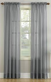 Blue Crushed Voile Curtains by Erica Crushed Voile Rod Pocket Curtain Panel Curtain U0026 Bath Outlet