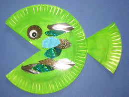 Paper Plate Fish S34sTRzc