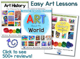 Easy Art Lessons For Elementary Students Includes Lots Of Writing Extensions And A Teacher Script