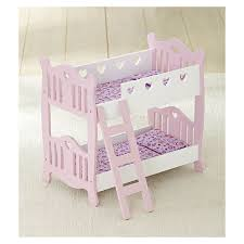 You & Me Wooden Doll Bunk Bed NEW