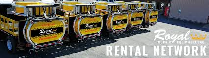 Attenuator Truck Rentals Available Nationwide - Royal Truck & Equipment