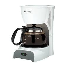 Mr Coffee 4 Cup Coffeemaker White