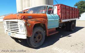 1968 Ford 600 Grain Truck | Item BJ9954 | SOLD! December 27 ...