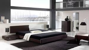 Amazing Picture Of Extreme Minimalist Interior Design Ideas Modern Bedroom Within Monochrome
