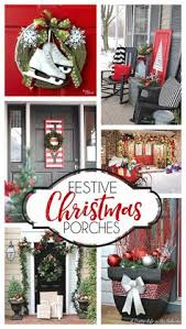 Outdoor Christmas Decorating Ideas Front Porch by Creative Ways To Decorate Your Holiday Front Porch Front Porches