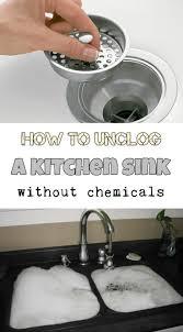 Kitchen Sink Disposal Not Working by Best 25 Unclog Sink Ideas On Pinterest Unclogging Sink