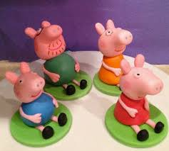peppa pig cake decorations 64 best peppa images on peppa pig cakes pig and