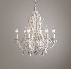 Mini Chandelier Over Bathtub by Palais Small Chandelier Rustic White For Over The Bathtub