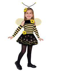 Halloween City Twin Falls by Totally Bumble Bee Costume For Girls Halloween City Costumes