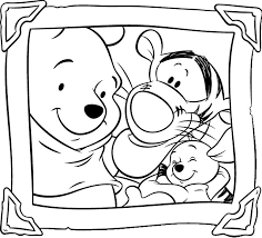 Fresh Coloring Pages Winnie The Pooh 72 About Remodel Free Colouring With
