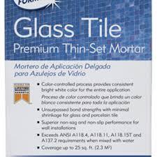 polymer modified thin set mortars glass tile premium thin set